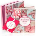 Newborn Baby Memory Book for Girl (First Year to 5) Pink