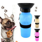 Portable Pet Dog Outdoor Water Bowl Bottle Dispenser Feeder Drinking Fountain US