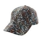 Womens Animal Print Sparkle Fabric Cap