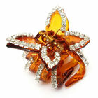 Butterfly Crystal Rhinestone Claw Hairpin Women Hair Accessory Clip Clamp