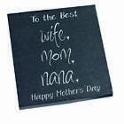 Mothers Wine Box Plaque Coasters Frame Candle Mum Mothers Day Gift Birthday sign