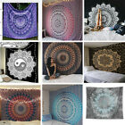 Внешний вид - Indian Mandala Tapestry Totem Bohemian Hippie Wall Hanging Queen Bedspread Throw