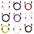 For Samsung Galaxy J8 J5 A5 A3 S7 S6 Edge Fast Micro USB Charger Cable Data Lead