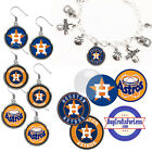 FREE DESIGN > HOUSTON ASTROS -Earrings, Pendant, Bracelet, Charm <FAST SHIP> on Ebay