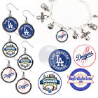 FREE DESIGN > LOS ANGELES DODGERS -Earrings, Pendant, Bracelet, Charm<FAST SHIP> on Ebay