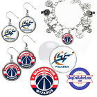 FREE DESIGN > WASHINGTON WIZARDS -Earrings, Pendant, Bracelet,Charm<FAST SHIP> on eBay