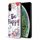 For Apple iPhone XS Max Multi-Color 3D Embossed Printing Hard TPU Case