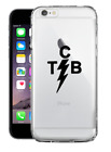 Elvis Presley TCB Clear Hard Case For iPhone 6/6s 6/6s PLUS 7 7 plus 8