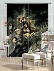 3D The War Of Genes 23 Japan Anime Blockout Photo Curtain Printing Fabric Window