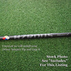Project X Golf HZRDUS Black Driver Shaft Uncut or w/Adapter Tip