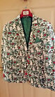 Suslo Couture Holiday Christmas Blazer Sport Coat Ugly Sweater XXL 48 L 42 NWT