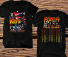 Men's KISS Band End of the Road Farewell Tour 2019 Concert T-Shirt Size S to 3XL image