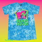 New MTV Beach House 1993 Tie Dye Mens Vintage Classic T-Shirt image