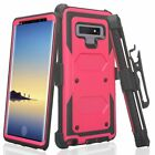 Samsung Galaxy Note 9 Shock Proof Phone Case Rugged Belt Clip
