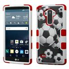 For LG G Stylo LS770 / G4 Stylus Rugged ShockProof TUFF Hybrid Hard Case Cover