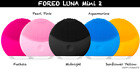 NEW Foreo Luna Mini 2 Facial Skin Care Cleansing Brush Equipment Facial Iris