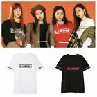 New KPOP BLACKPINK T-shirt SQUARE ONE Concert LISA Tshirt Casual Tee Tops Rose image