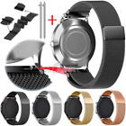 US Milanese Magnetic Stainless Watch Band Strap For Samsung Galaxy Gear 42/46mm