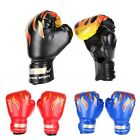 Professional Children Kids Flame Mesh Cuff Sanda Boxing Training Gloves For Baby