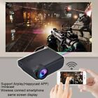 5000 Lumens 1080P Projector  Android/IOS WiFi 3D 4K HD LED Home Theater  Cinema
