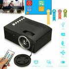 8000 Lumens 1080P Projector  Android/IOS WiFi 3D 4K HD LED Home Theater  Cinema