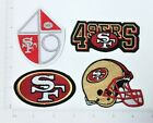 NFL SF San Francisco 49ers Embroidered Iron On Patch logo shield helmet badge $3.15 USD on eBay