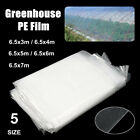Heavy Duty Greenhouse Plant Clear Film Cover Pollytunnel Reinforce Garden 5  ❤