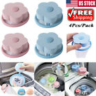 4Pcs Floating Pet Fur Catcher Lint Hair Remover Filter Bag for Washing Machine