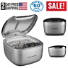 Magnasonic Professional Ultrasonic Jewelry Cleaner , Dual-Wave Heavy Duty... New