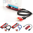 USB 3.0 PCI-E Express 1x To16x Extender Riser Board Card Adapter Kits Cable