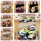 Naruto0 3D Japan Anime Bedding Set High-quality 3PC Of Duvet Cover Pillowcases image