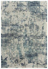 Rizzy Rugs Blue Rings Petals Loops Bulbs Contemporary Area Rug Abstract CHS107