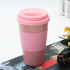 Reusable Bamboo Fiber Coffee Cup Mugs Coffe Travel Mug Drink Water Mug