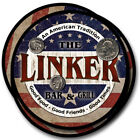 Linker Family Name Drink Coasters - 4pcs - Wine Beer Coffee & Bar Designs