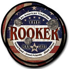 Rooker Family Name Drink Coasters - 4pcs - Wine Beer Coffee & Bar Designs