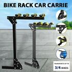 "Steel 3/4 Bicycle Bike Rack Car Truck Van Rear Carrier Hitch Mount 2"" Receivers"