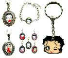 BETTY BOOP CLIP ON CHARM OR NECKLACE OR BRACELET OR BOOKMARK OR LOCKET £1.99 GBP on eBay