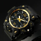 Military Men's Tactical Digital Shock Army Analog Date Sport Quartz Wrist Watch