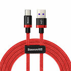 USB-C 3.1 Type-C 6.6ft Nylon Braided Rope Data Fast Charger Charging Cable Cord