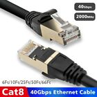 6~66ft CAT8 Ethernet Cable Internet Network Cord, High Speed S/FTP LAN Cable LOT
