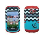 [Red] For Samsung R740/S738/S730 Hybrid ShockProof Armor Protective Case Cover