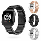 For Fitbit Versa Fitness Smart Watch Replacement Metal Strap Wrist Band Bracelet