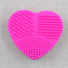 Beauty Silicone Makeup Brush Cleaner Pad Washing Cosmetic Scrubber Mat Hand Tool