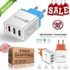 USB Quick charge 3.0 5V 3A for Iphone 7 8 EU US Plug Mobile Phone Fast charger