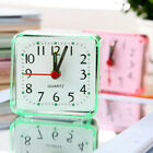 1x Battery Operated Alarm Clock Battery Silent Home Desk Table Bedside Car Clock