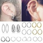 Gold/Silver Metal Big Hoop Circle Smooth Ring Hoop Earrings Women Men Jewelry for sale  China