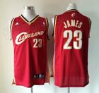 New Cleveland Cavaliers #23 LeBron James Basketball Jerseys Red Size:S-XXL on eBay