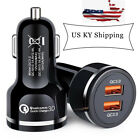 2 Dual Port USB Fast Car Charger 48W Qualcomm Quick Charge QC 3.0 iPhone Samsung