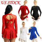 Women Adult Ballet Dress Ice Skating Stage Tutu Skirt Leotard Dancewear Costume
