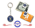 FREE DESIGN > SAN DIEGO PADRES -Money/Gift Card Clip or Keyring, #GiftForHim on Ebay